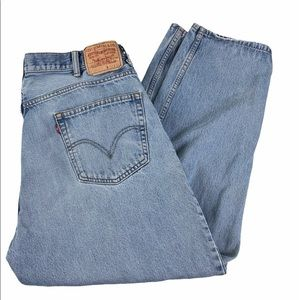 """Levi's 550 Relaxed Fit 40x35 inseam 29"""""""